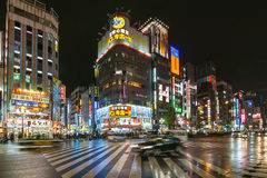 Tokyo, Japan - November 21, 2016 : Kabukicho Area in Tokyo, Japa Royalty Free Stock Photography