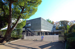 Tokyo, Japan - November 22. 2013: The National Museum of Western Royalty Free Stock Images