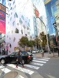 Tokyo, Japan - November 26, 2013 : People shopping at Modern building Royalty Free Stock Image