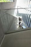 Tokyo, Japan - November 23, 2013: People visit 21_21 Design Sight Museum in Tokyo Stock Photo