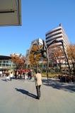 TOKYO, JAPAN - NOVEMBER 23: People visit the spider sculpture inRoppongi Hills Stock Images