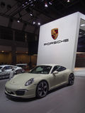 TOKYO, JAPAN - November 23, 2013: Porsche 911 at the booth of porsche Stock Photo