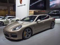 TOKYO, JAPAN - November 23, 2013: Porsche Panamera Royalty Free Stock Photography