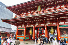 Tokyo, Japan - November 19, 2016 The Senso-ji Temple in Asakusa, Stock Images