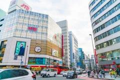 TOKYO, JAPAN - 2016 am 17. November: Shinjuku ist eins von Tokyos busine Lizenzfreies Stockbild