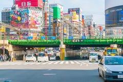 TOKYO, JAPAN - 2016 am 17. November: Shinjuku ist eins von Tokyos busine Lizenzfreies Stockfoto