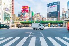 TOKYO, JAPAN - 2016 am 17. November: Shinjuku ist eins von Tokyos busine Lizenzfreie Stockfotografie