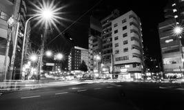 Tokyo, Japan - November 22, 2013: Street life in Sengoku distritc Stock Image