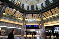 Tokyo, Japan - 26. November 2013: Touristische Besuch Tokyo-Station Lizenzfreies Stockfoto