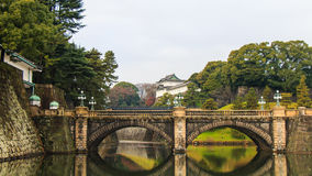 Tokyo, Japan - 24. September: Kaiserpalast in Tokyo, Japan an Stockbild