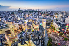 Tokyo Japan at Shibuya Royalty Free Stock Photos