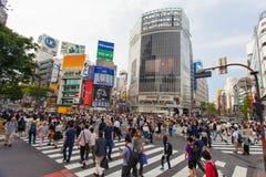Tokyo, Japan - Shibuya pedestrian crossing Royalty Free Stock Photography