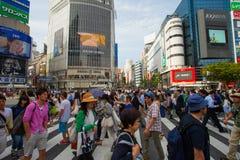 Tokyo, Japan - Shibuya pedestrian crossing Royalty Free Stock Image