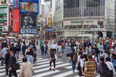 Tokyo, Japan - Shibuya pedestrian crossing Stock Image