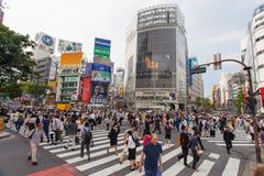 Tokyo, Japan - Shibuya pedestrian crossing Stock Photos