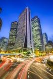 Tokyo, Japan Shinjuku Skyscrapers Stock Photo