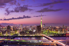 Tokyo Japan Skyline Royalty Free Stock Photography
