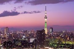 Tokyo Japan Skyline Stock Photos