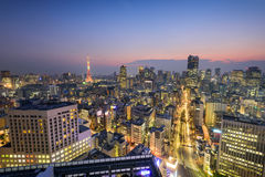 Tokyo Japan Skyline Royalty Free Stock Photos
