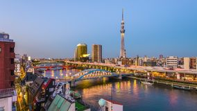 Tokyo Japan Skyline stock video footage