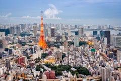 Tokyo, Japan Skyline Royalty Free Stock Photo