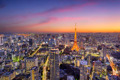 Tokyo, Japan Skyline Royalty Free Stock Photos