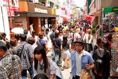 TOKYO, JAPAN : Takeshita Street(Takeshita Dori) Stock Photos
