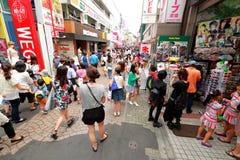 TOKYO, JAPAN : Takeshita Street(Takeshita Dori) Royalty Free Stock Photography