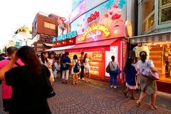 TOKYO, JAPAN : Takeshita Street(Takeshita Dori) Royalty Free Stock Photo