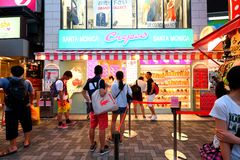 TOKYO, JAPAN : Takeshita Street(Takeshita Dori) Royalty Free Stock Photos