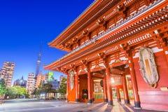 Tokyo Japan tempel Royaltyfri Fotografi