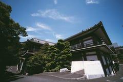 tokyo, japan, temple, zojoji, asia, japanese, tower, asian, buddhism, zojo-ji, shiba, travel, buddhist, city, religion, park, old stock photography