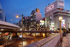 Tokyo, Japan, Ueno District. Royalty Free Stock Images
