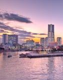 Tokyo Japan Yokohama bay Royalty Free Stock Photo