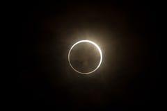 Tokyo, Japon - 21 mai : Éclipse annulaire photos stock