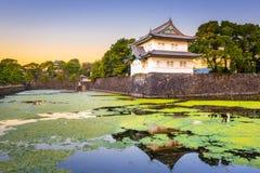 Tokyo, Japon chez le Palac impérial images libres de droits