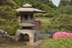 Tokyo, Japon, le 7 juin 2012 : le shinjuku gyoen le jardin national Photos stock