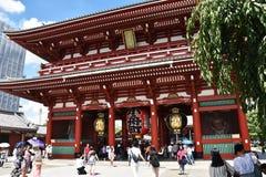 TOKYO, JAPON : Le 5 septembre 2016 : Rue d'achats de Nakamise dans Asakusa, Tokyo Japon Images stock