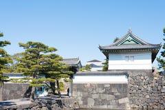 TOKYO, JAPON - mars 7,2014 : porte de Kikyo-lundi, Imperi Photos stock
