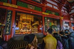 Tokyo, Japon - 19 novembre 2016 : À l'intérieur du hall principal du sénateur Photographie stock libre de droits