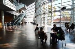 Tokyo, Japon - 23 novembre 2013 : Les gens rendent visite à Art Center national à Tokyo Photo stock