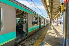 Tokyo, Japon - 18 novembre 2016 : Station de train de Shinjuku Shinjuk Photos stock