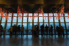 TOKYO, JAPON - 25 NOVEMBRE : Tour de Tokyo à Tokyo, Japon sur Novem Photos libres de droits