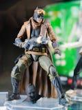 Tokyo, Japon - 30 octobre 2018 : Fermez-vous du chiffre de Batman sur des Di photo libre de droits