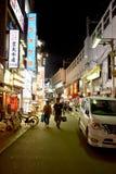 TOKYO, JAPON - 4 septembre 2016 : Vue de nuit de marché d'Ameyako Photo stock