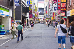 Tokyo Kabukich� afternoon Royalty Free Stock Image