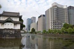 Tokyo-Kaiserplatz Stockbild