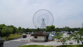 Tokyo Kasai Rinkai natural conservation park Royalty Free Stock Photos