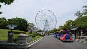 Tokyo Kasai Rinkai parkerar naturligt beskydd Arkivfoto