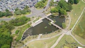 Tokyo Kasai Rinkai parkerar naturligt beskydd Royaltyfria Foton